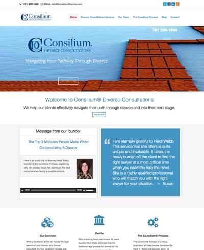 ConsiliumDivorce.com webiste